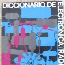 Radios antiguas - DICCIONARIO DE ELECTRÓNICA RADIO TV AFHA - 93585540