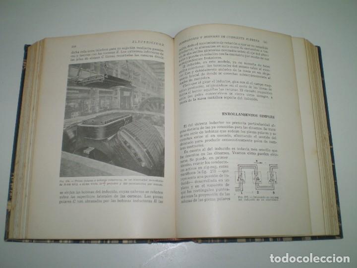 Radios antiguas: ELECTRICIDAD - BIBLIOTECA HISPANIA POR JUAN MARTIN ROMERO. - Foto 3 - 93901225