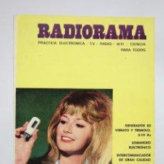 Radios antiguas: REVISTA DE PRÁCTICA ELECTRÓNICA / RADIO / TV... - RADIORAMA. Nº 45, AGOSTO 1971 - PIHER. Lote 94027595