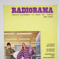 Radios antiguas: REVISTA DE PRÁCTICA ELECTRÓNICA / RADIO / TV... - RADIORAMA. Nº 36, NOVIEMBRE 1970 - PIHER. Lote 94027790