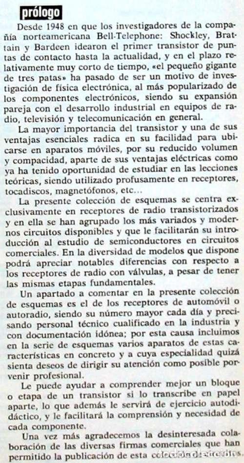 Radios antiguas: CIRCUITOS TRANSISTORES - ED. AFHA 1976 - VER INDICE Y DESCRIPCIÓN - Foto 2 - 95872823