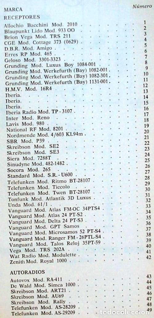 Radios antiguas: CIRCUITOS TRANSISTORES - ED. AFHA 1976 - VER INDICE Y DESCRIPCIÓN - Foto 3 - 95872823