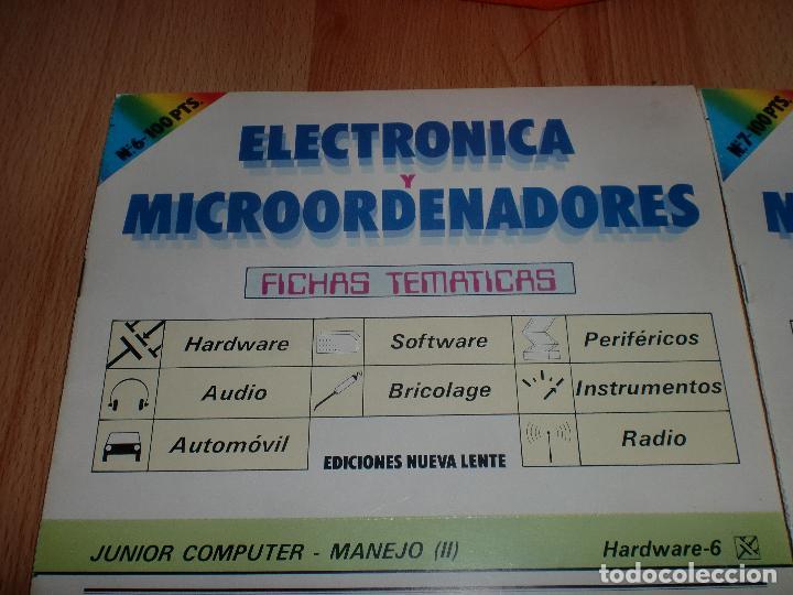 ELECTRONICA Y MICROORDENADORES 46 NUMEROS (Radios, Gramófonos, Grabadoras y Otros - Catálogos, Publicidad y Libros de Radio)