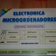 Radios antiguas: ELECTRONICA Y MICROORDENADORES 46 NUMEROS. Lote 97535991