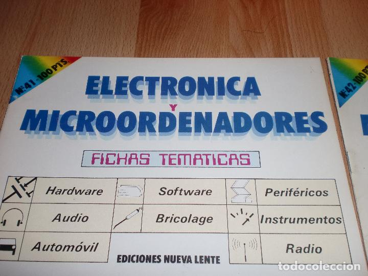 Radios antiguas: Electronica y microordenadores 46 numeros - Foto 3 - 97535991