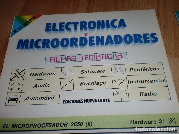 Radios antiguas: Electronica y microordenadores 46 numeros - Foto 5 - 97535991