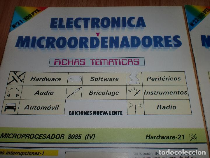 Radios antiguas: Electronica y microordenadores 46 numeros - Foto 7 - 97535991