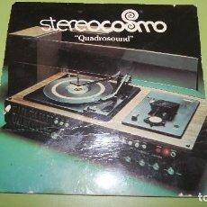 Radios antiguas: PUBLICIDAD DE STEREOCOSMO QUADROSOUND MUY CURIOSA. Lote 98575575