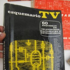 Radios antiguas: ESQUEMARIO 1964 I ESQUEMAS TELEVISORES REPARADOR REPARACION TELEVISIONES ANTIGUOS TV. Lote 99792879