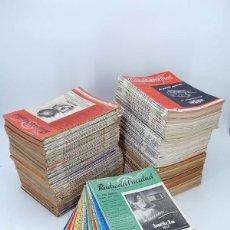 Radios antiguas: REVISTA RADIOELECTRICIDAD. LOTE DE 134 NÚMEROS (104 A 242 SÓLO 5 FALTAS). 1947 – 1959 , 1947. Lote 100123760