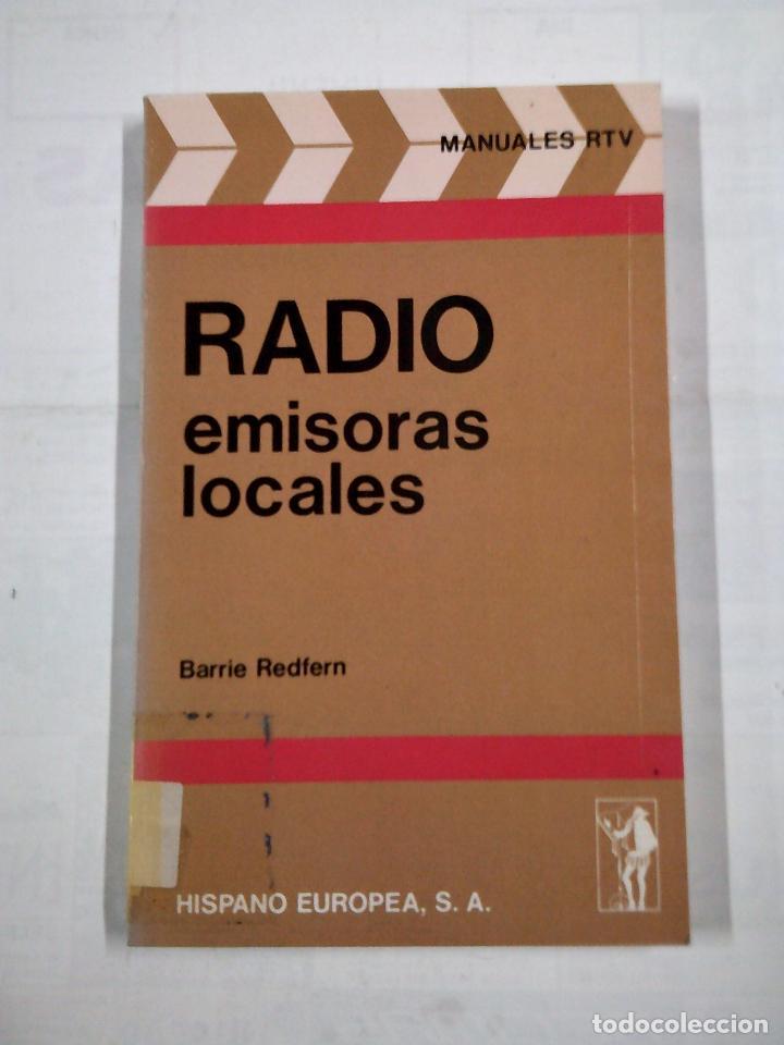 RADIO EMISORAS LOCALES. REDFERN BARRIE. TDK317 (Radios, Gramófonos, Grabadoras y Otros - Catálogos, Publicidad y Libros de Radio)