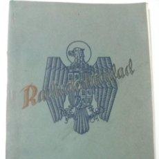 Radios antiguas: REVISTA ESPAÑOLA RADIOELECTRICIDAD NUMERO 5 - DICIEMBRE 1938 - COMO NUEVA (VER FOTOS. Lote 101171791