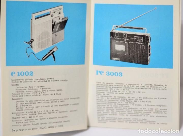 Radios antiguas: MANUAL ORIGINAL TV LAVIS 1026 + CATALOGO RADIO TV SONIDO VINTAGE RETRO - Foto 2 - 103147791