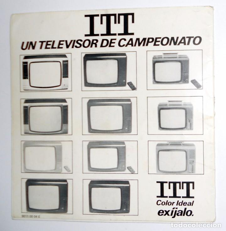 Radios antiguas: MANUAL INSTRUCCIONES ANTIGUO. TELEVISION ITT. IDEAL COLOR 3432. TELEVISION VINTAGE. - Foto 3 - 103988603