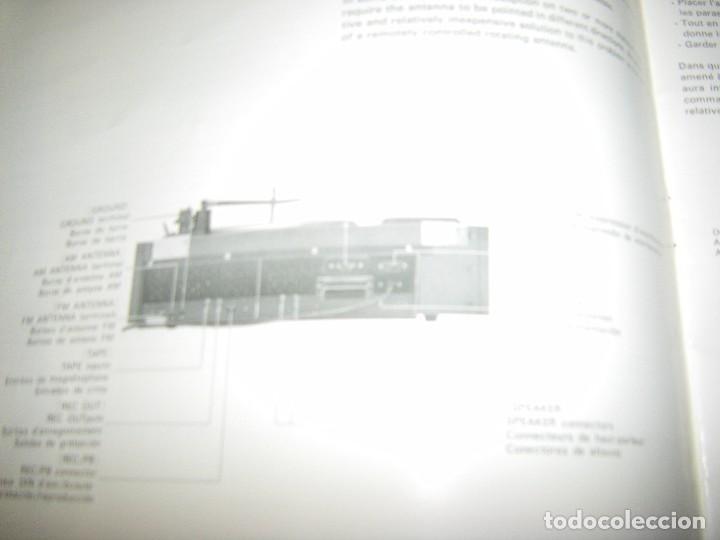 Radios antiguas: Instrucciones tocadiscos Sony HP-179 - Foto 8 - 103997883