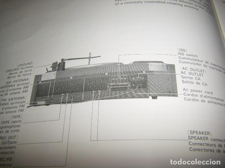 Radios antiguas: Instrucciones tocadiscos Sony HP-179 - Foto 9 - 103997883