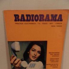 Radios antiguas: REVISTA RADIORAMA -OCTUBRE 1969 Nº 23- REVISTADE RADIO. Lote 104746367