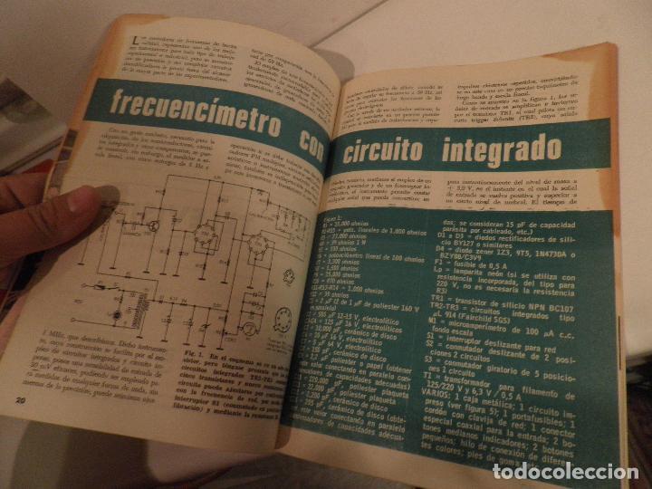 Radios antiguas: REVISTA RADIORAMA -OCTUBRE 1969 Nº 23- REVISTADE RADIO - Foto 3 - 104746367