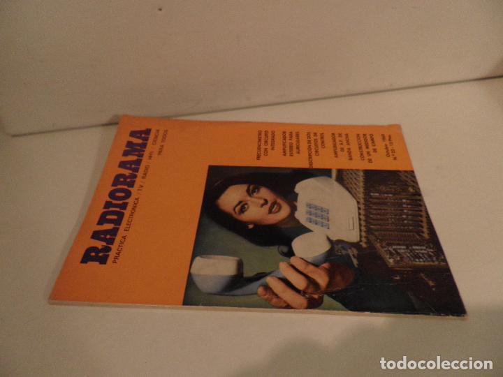 Radios antiguas: REVISTA RADIORAMA -OCTUBRE 1969 Nº 23- REVISTADE RADIO - Foto 11 - 104746367
