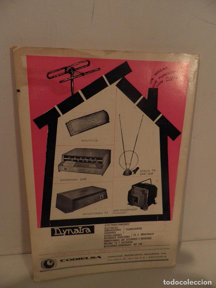 Radios antiguas: REVISTA RADIORAMA -OCTUBRE 1969 Nº 23- REVISTADE RADIO - Foto 12 - 104746367