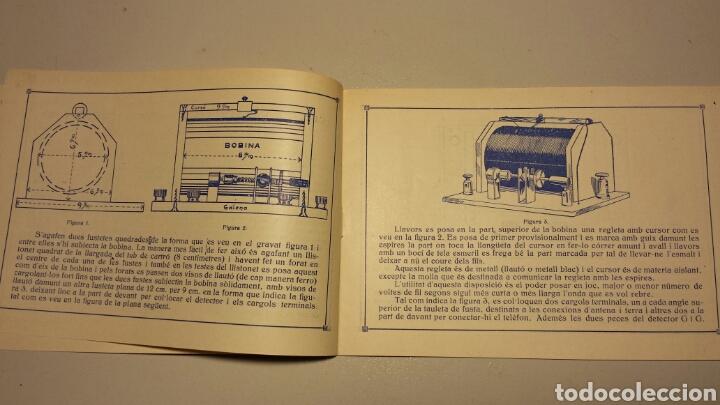Radios antiguas: Precioso catalago de radio galena y valvulas bell en catalan años 20 - Foto 4 - 105995099