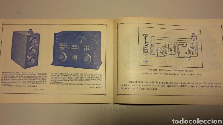 Radios antiguas: Precioso catalago de radio galena y valvulas bell en catalan años 20 - Foto 9 - 105995099