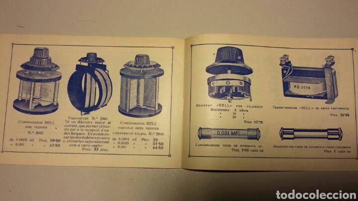 Radios antiguas: Precioso catalago de radio galena y valvulas bell en catalan años 20 - Foto 10 - 105995099