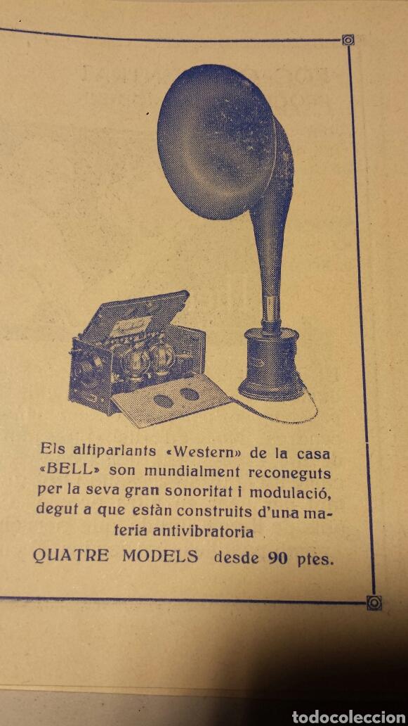 Radios antiguas: Precioso catalago de radio galena y valvulas bell en catalan años 20 - Foto 11 - 105995099