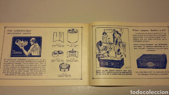 Radios antiguas: Precioso catalago de radio galena y valvulas bell en catalan años 20 - Foto 12 - 105995099