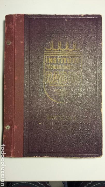 INSTITUTO TECNICO PRACTICO RADIO BARCELONA CURSO COMPLETO INTEPRA AÑOS 40 GALENA TV (Radios, Gramófonos, Grabadoras y Otros - Catálogos, Publicidad y Libros de Radio)
