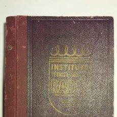 Radios antiguas: INSTITUTO TECNICO PRACTICO RADIO BARCELONA CURSO COMPLETO INTEPRA AÑOS 40 GALENA TV. Lote 106078680