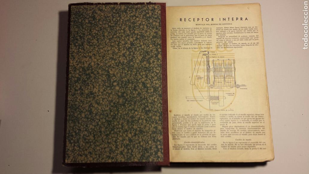 Radios antiguas: Instituto tecnico practico radio barcelona curso completo intepra años 40 galena TV - Foto 2 - 106078680