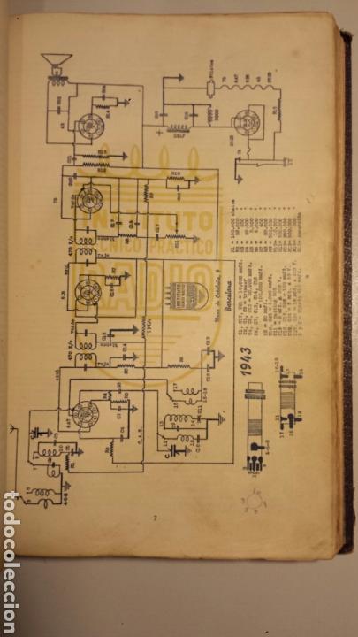Radios antiguas: Instituto tecnico practico radio barcelona curso completo intepra años 40 galena TV - Foto 5 - 106078680