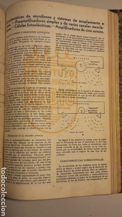 Radios antiguas: Instituto tecnico practico radio barcelona curso completo intepra años 40 galena TV - Foto 7 - 106078680