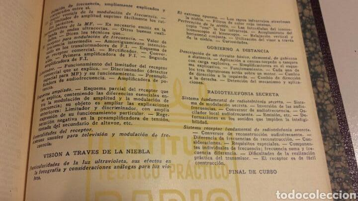 Radios antiguas: Instituto tecnico practico radio barcelona curso completo intepra años 40 galena TV - Foto 10 - 106078680