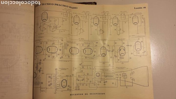 Radios antiguas: Instituto tecnico practico radio barcelona curso completo intepra años 40 galena TV - Foto 14 - 106078680