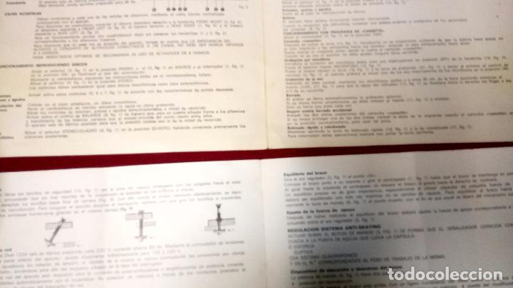 Radios antiguas: Folletos informativos os e instrucciones Bettor - equipo receptor estereofonico EF-350 - Foto 3 - 106417223