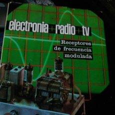 Radios antiguas: ELECTRONIA + RADIO + TV - VI - RECPTORES DE FRECUENCIA MODULADA (APHA, 1970). Lote 107850379