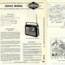 Radios antiguas: PHILCO - T-905 SERVICE MANUAL ORIGINAL BOOK. Lote 110629963