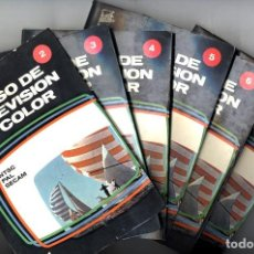 Radios antiguas: CURSO DE TELEVISION EN COLOR REDE TOMOS - 2 - 3 - 4 - 5 - 6 - 8 + TV COLOR PRACTICA DE ESTRADA. Lote 128802094