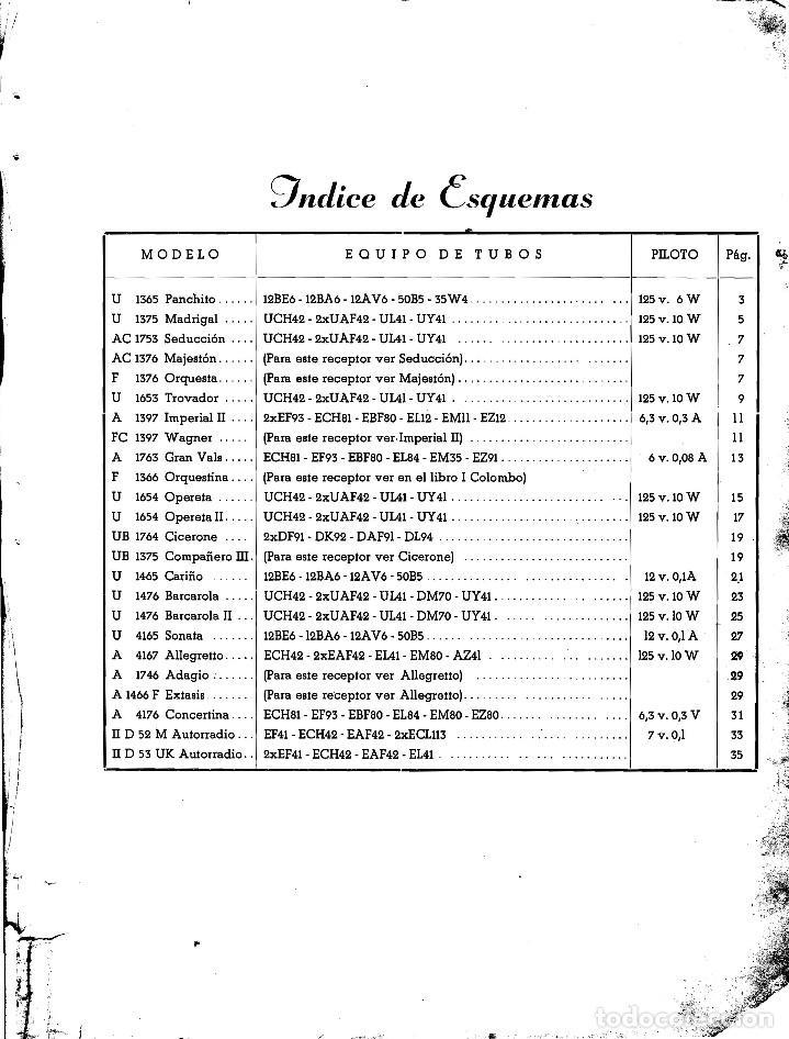 Radios antiguas: TELEFUNKEN IBERICA - INFOMACION PARA TALLERES + ANEXO EN CD ARCHIVOS PDF - Foto 2 - 236234575