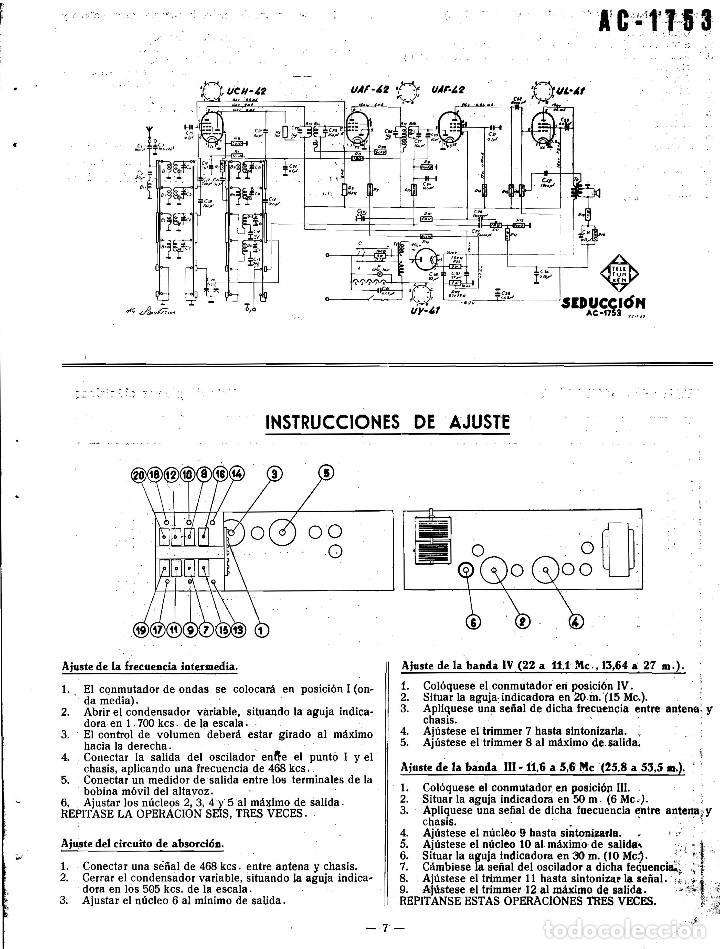 Radios antiguas: TELEFUNKEN IBERICA - INFOMACION PARA TALLERES + ANEXO EN CD ARCHIVOS PDF - Foto 3 - 236234575