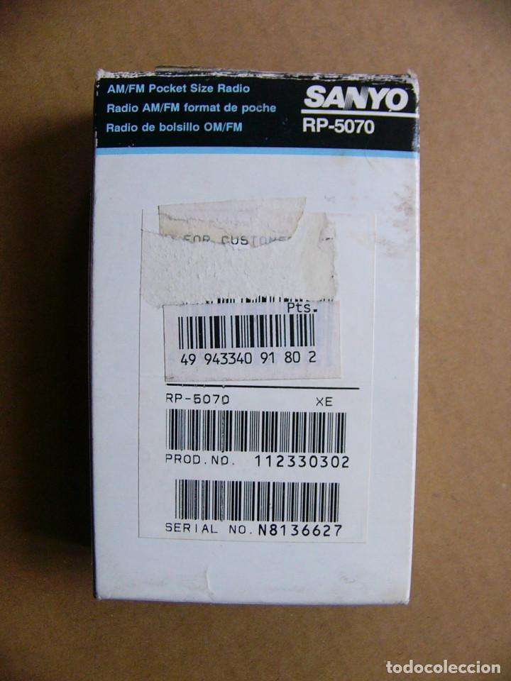Radios antiguas: Manual de instrucciones y caja original Radio Sanyo RP-5070 RP 5070 - Foto 3 - 111805179