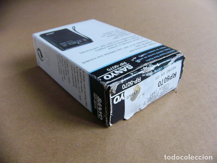 Radios antiguas: Manual de instrucciones y caja original Radio Sanyo RP-5070 RP 5070 - Foto 6 - 111805179