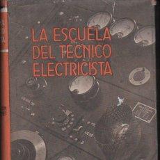 Radios antiguas: TELECOMUNICACIÓN POR CONDUCTORES (LABOR, 1956). Lote 112359135