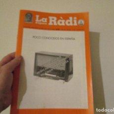 Radios antiguas: LA RADIO DE EPOCA AÑO IV PRIMERA EPOCA NUMERO 35 ASOCIACION ACAR. Lote 113873779