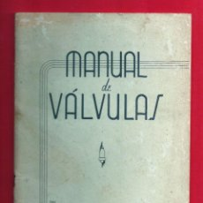 Radios antiguas: MANUAL DE VÁLVULAS - NATIONAL SCHOOLS - 52 PAGINAS -1948. Lote 115503715