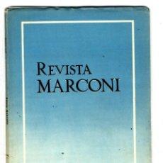 Radios antiguas: MARCONI ESPAÑOLA REVISTA EDITADA POR LA FABRICA AÑO VI Nº 20 ENERO 1952. Lote 116334487