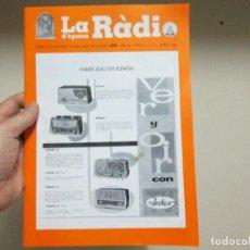 Radios antiguas: LA RADIO DE EPOCA PRIMERA EPOCA NUMERO 27 ASOCIACION ACAR. Lote 116347711