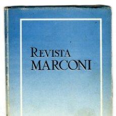 Radios antiguas: MARCONI ESPAÑOLA REVISTA EDITADA POR LA FABRICA AÑO III Nº 8 ENERO 1949 . Lote 116433839